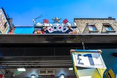 Camden market in London, England, UK.  stock photo