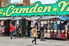 Camden market royalty free stock images