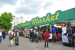 Camden Market in London, United Kingdom stock image