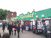 Camden market uk famous place at noon Stock Photo