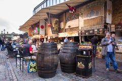 Camden marknad London Arkivfoto