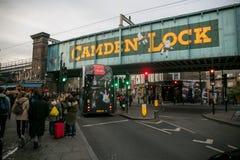 Camden miasteczko, Londyn Zdjęcia Stock