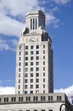 Camden New Jersey. The tower of City Hall in Camden New Jersey a city plagued by poverty and urban decay that was once called the most depressed city on the East Royalty Free Stock Image