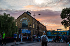 Camden. Photography of Camden during the summer festivals, London, UK Royalty Free Stock Photo