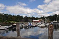 Camden Port, Maine Royalty-vrije Stock Afbeeldingen