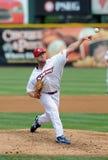 Camden Riversharks J.R. Mathes pitcher Stock Image