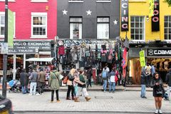 Camden shopping, London Royalty Free Stock Photo
