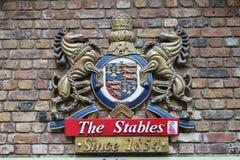 Camden Stables Market Royalty Free Stock Photos