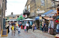 Camden Stables Market Royalty Free Stock Photo
