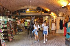 Camden Stables Market Stock Photography