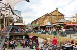 Camden Stables Market Stock Image