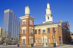 Camden Station, Baltimore, Maryland Stock Photo