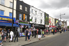 Camden Street in London, United Kingdom Stock Photography