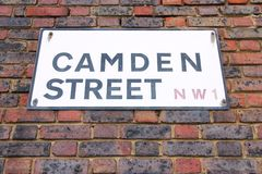 Camden Street Royalty Free Stock Images
