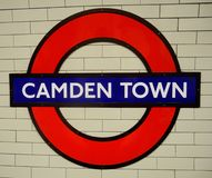 Camden Town Fotografía de archivo libre de regalías