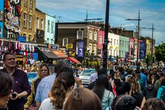 Camden Town lizenzfreie stockfotos