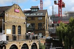 Camden town. Famous place in london Royalty Free Stock Photos