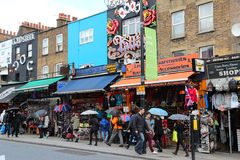 Camden Town, London Arkivfoto