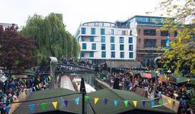 Camden Town London royaltyfri fotografi