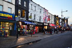 Camden Town London. Royalty Free Stock Photography