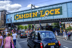 Camden Town in London England Stock Image