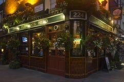 Restaurant on street in Camden Town London Great Britain Royalty Free Stock Photos