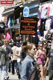 Camden Town, Market, London Stock Image