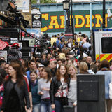 Camden Town, Market, London Royalty Free Stock Image