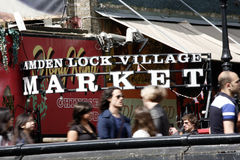 Camden Town, Market, London Stock Photography