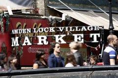Camden Town, Market, London Stock Photography