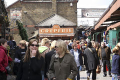 Camden Town, Market, London Stock Images