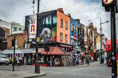 Camden Town Market Royalty Free Stock Images