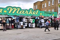 Camden Town market Royalty Free Stock Image