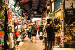 Camden Town shopping Stock Image