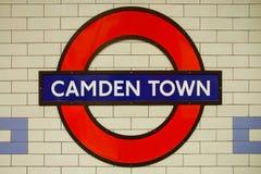 Camden Town subterráneo Fotos de archivo