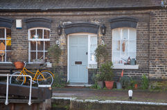 Camden town. Typical british house in camden town in london Royalty Free Stock Image