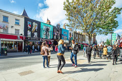Camden Town, UK Royalty Free Stock Photography