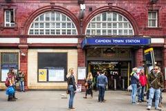 Camden Town Underground Reino Unido Fotografía de archivo libre de regalías