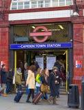 Camden Tube Station imagem de stock royalty free