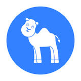 Camel black icon. Illustration for web and mobile design. Royalty Free Stock Photos