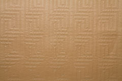 Artificial fabric texture camel brown color dotted Stock Photo