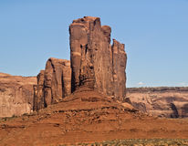 Camel Butte. This is Camel Butte from Monument Valley stock photo