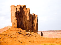 The Camel Butte is a giant sandstone formation in the Monument v Stock Image