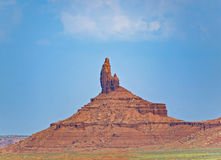 Camel Butte is a giant sandstone formation in the Monument valle Royalty Free Stock Photography