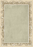 Camel conice for painting or postcard Vintage frame border retro. Conice for painting or postcard linework Black Conice for painting or postcard Vintage frame Royalty Free Stock Images