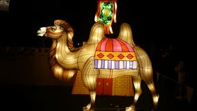 Camel Handmade Chinese Lantern Royalty Free Stock Images