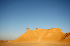 Camel head rock sunset Royalty Free Stock Photos