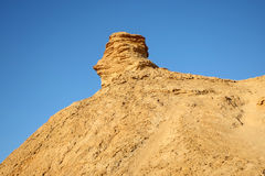 Camel head rock in Tunisia Royalty Free Stock Image