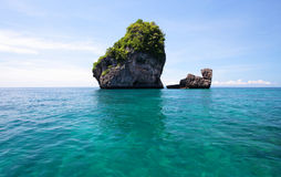 Camel island phi phi Royalty Free Stock Images