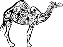 Camel ornament Stock Image